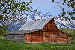 Moulton Barn, Jackson Hole, Wyoming