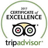 Trip Advisor 2017 Certificate of Excellence Barker-Ewing Scenic Float Trips