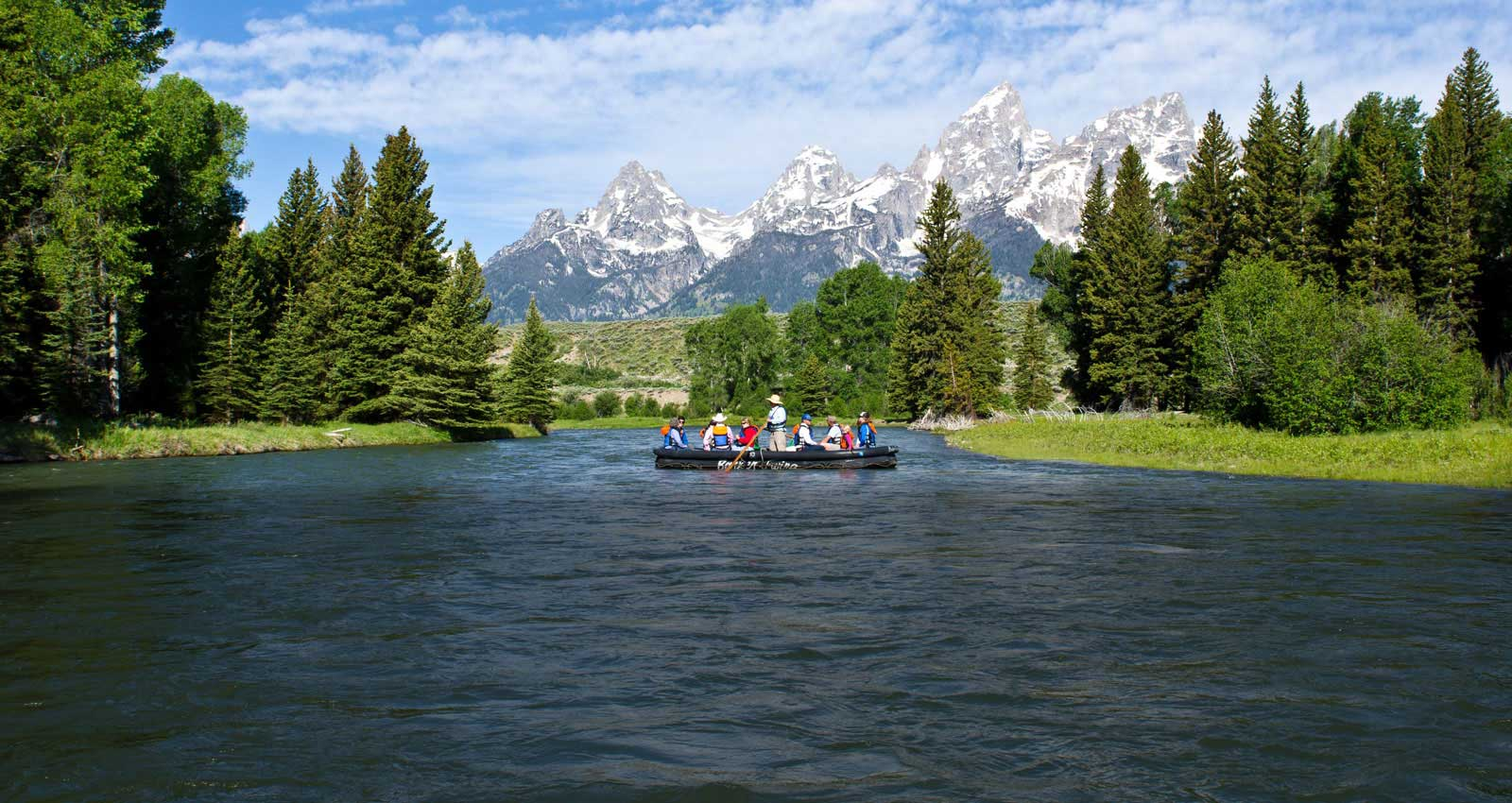 Grand Teton Scenic Float Trips